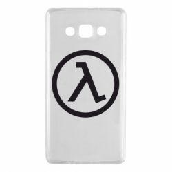 Чехол для Samsung A7 2015 Half Life Logo