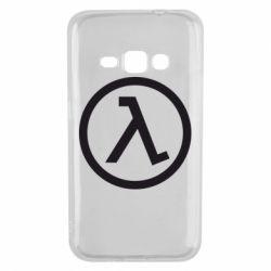 Чехол для Samsung J1 2016 Half Life Logo