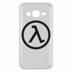 Чехол для Samsung J2 2015 Half Life Logo