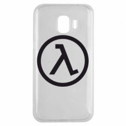 Чехол для Samsung J2 2018 Half Life Logo