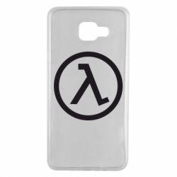Чехол для Samsung A7 2016 Half Life Logo