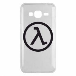 Чехол для Samsung J3 2016 Half Life Logo