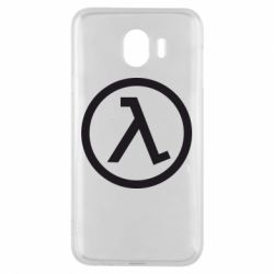 Чехол для Samsung J4 Half Life Logo