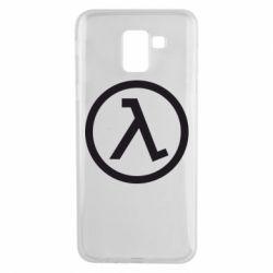Чехол для Samsung J6 Half Life Logo