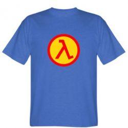 Мужская футболка Half Life Logo