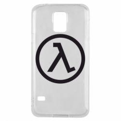 Чехол для Samsung S5 Half Life Logo