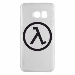 Чохол для Samsung S6 EDGE Half Life Logo
