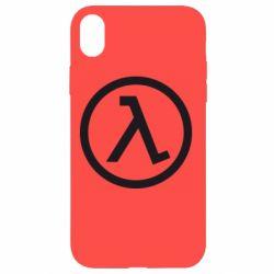 Чохол для iPhone XR Half Life Logo