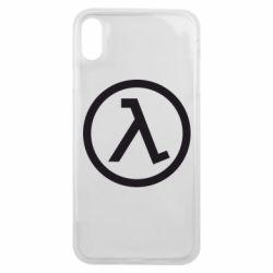 Чохол для iPhone Xs Max Half Life Logo