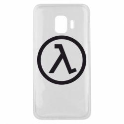 Чохол для Samsung J2 Core Half Life Logo