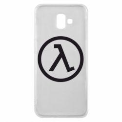 Чехол для Samsung J6 Plus 2018 Half Life Logo