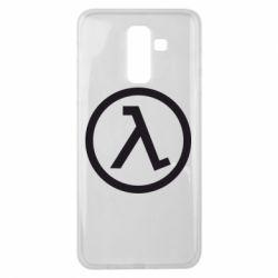 Чохол для Samsung J8 2018 Half Life Logo