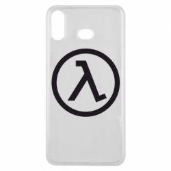 Чехол для Samsung A6s Half Life Logo