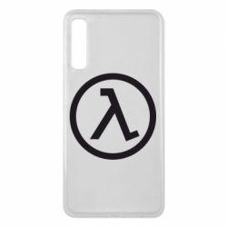 Чехол для Samsung A7 2018 Half Life Logo