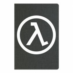 Блокнот А5 Half Life Logo