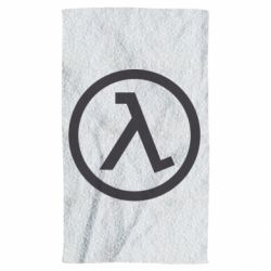 Полотенце Half Life Logo