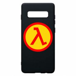 Чехол для Samsung S10+ Half Life Logo