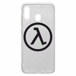 Чехол для Samsung A20 Half Life Logo
