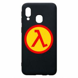 Чехол для Samsung A40 Half Life Logo