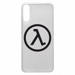 Чехол для Samsung A70 Half Life Logo