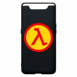 Чехол для Samsung A80 Half Life Logo