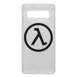 Чехол для Samsung S10 Half Life Logo