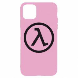 Чехол для iPhone 11 Half Life Logo