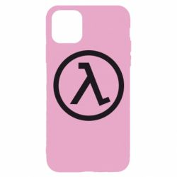 Чохол для iPhone 11 Pro Half Life Logo