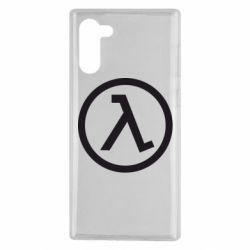 Чохол для Samsung Note 10 Half Life Logo