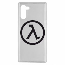 Чехол для Samsung Note 10 Half Life Logo