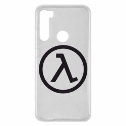 Чохол для Xiaomi Redmi Note 8 Half Life Logo