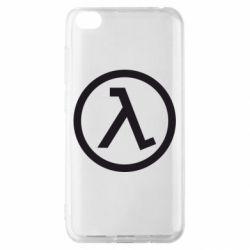 Чохол для Xiaomi Redmi Go Half Life Logo