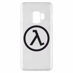 Чехол для Samsung S9 Half Life Logo