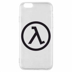 Чехол для iPhone 6/6S Half Life Logo