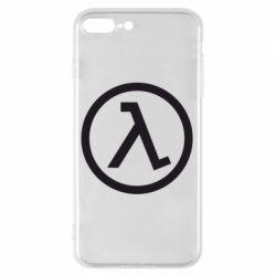 Чохол для iPhone 7 Plus Half Life Logo