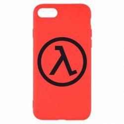 Чехол для iPhone 8 Half Life Logo
