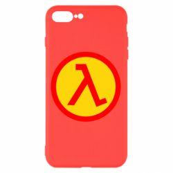 Чехол для iPhone 8 Plus Half Life Logo
