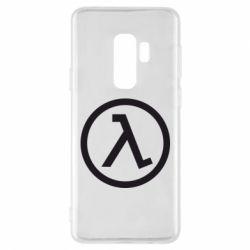 Чехол для Samsung S9+ Half Life Logo