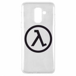 Чехол для Samsung A6+ 2018 Half Life Logo