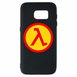 Чехол для Samsung S7 Half Life Logo