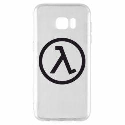 Чохол для Samsung S7 EDGE Half Life Logo