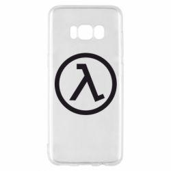Чехол для Samsung S8 Half Life Logo