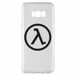 Чехол для Samsung S8+ Half Life Logo