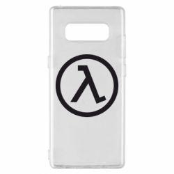 Чохол для Samsung Note 8 Half Life Logo