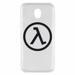 Чехол для Samsung J5 2017 Half Life Logo