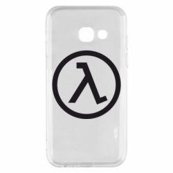 Чехол для Samsung A3 2017 Half Life Logo