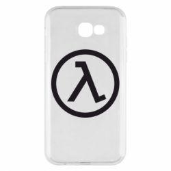 Чехол для Samsung A7 2017 Half Life Logo