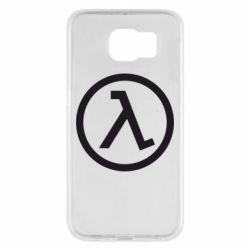 Чехол для Samsung S6 Half Life Logo