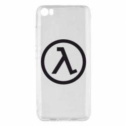 Чохол для Xiaomi Mi5/Mi5 Pro Half Life Logo