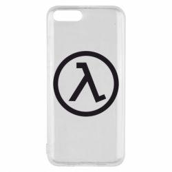 Чехол для Xiaomi Mi6 Half Life Logo